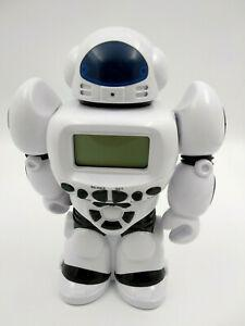 Robot tirelire avec horloge sons et lumiere, neuf, hauteur