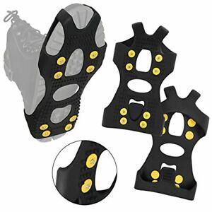 Alpidex crampons antidérapants chaussures glace traction