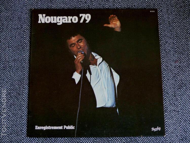 Claude nougaro - nougaro 79 enregistrement public - lp / 33t