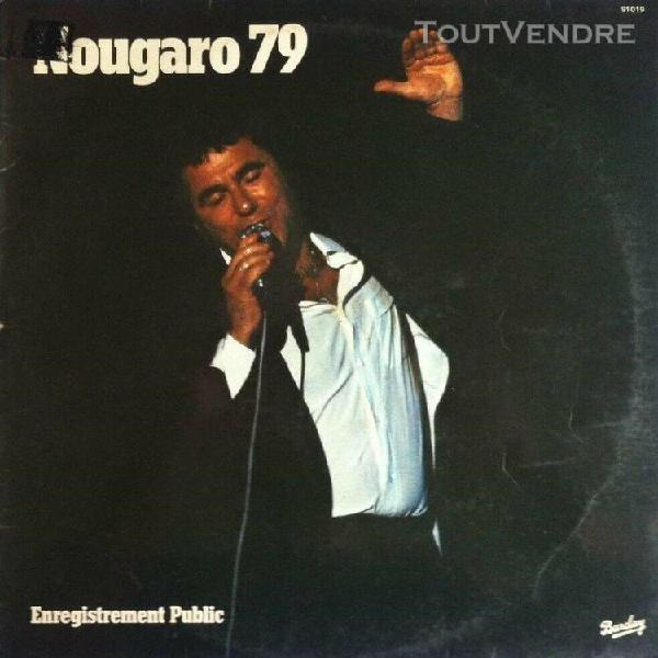 """Lp/33t claude nougaro """"nougaro 79"""" (vinyle vg++/vg++)"""