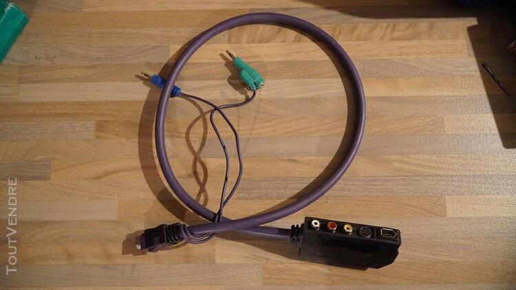 Atari stf câble audio/video firewire