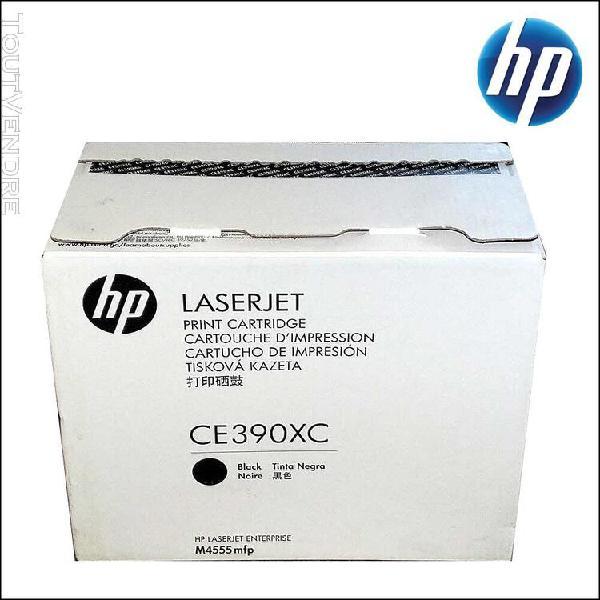 Hp ce390xc - toner laser jet noir - 100% produit original