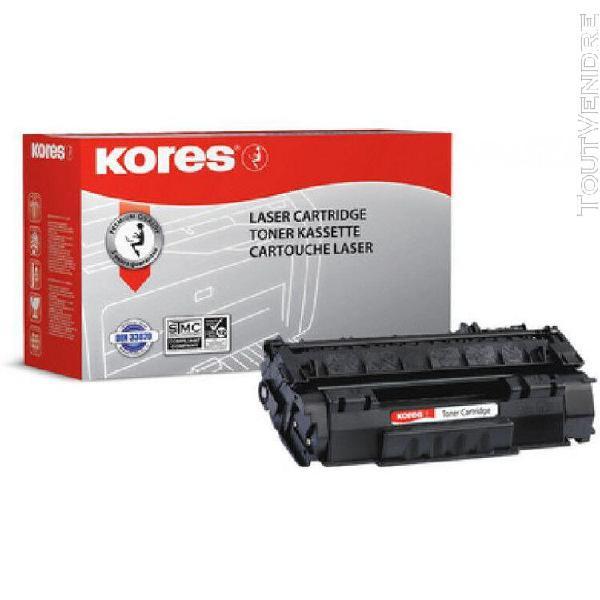 Kores kores toner g1239rbr remplace hp ce343a, magenta noir