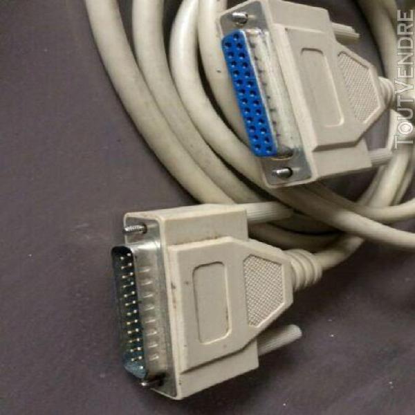 Lot câbles / souris pour ancien ordinateur apple macintosh
