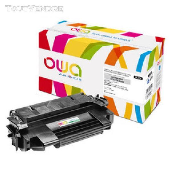 Owa toner k15408ow remplace hp ce310a / 4370b002, noir