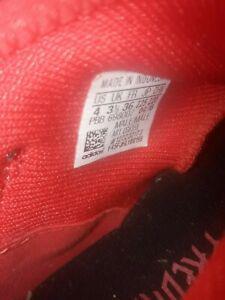 Adidas predator 18.3 - fg - noir / rouge - 3 uk / 36 fr -