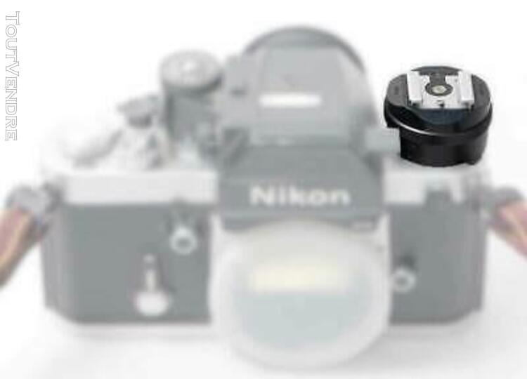Nikon as-1 adaptateur de flash pour f2