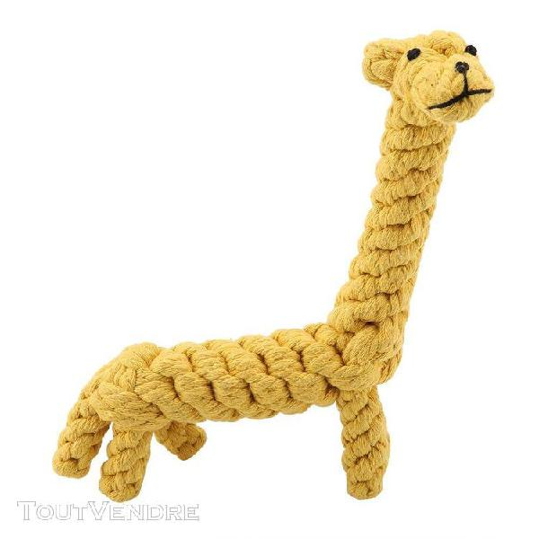 Chien corde jouets mignon chien jouet coton corde corde