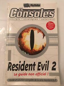 Guide et solution complète résident evil 1 & 2 comme neuf