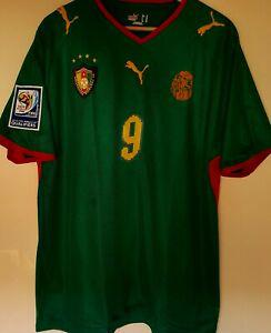 Maillot foot cameroun eto'o wc 2010 qualifiers taille