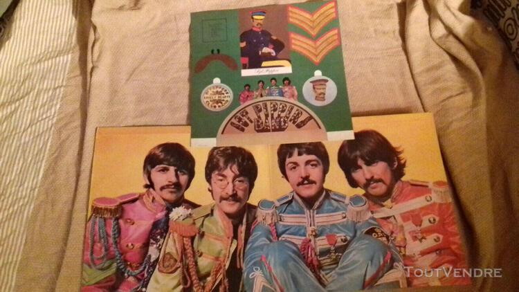 Beatles sergent pepper pmc7027 rare xex637 1967 parlophone m