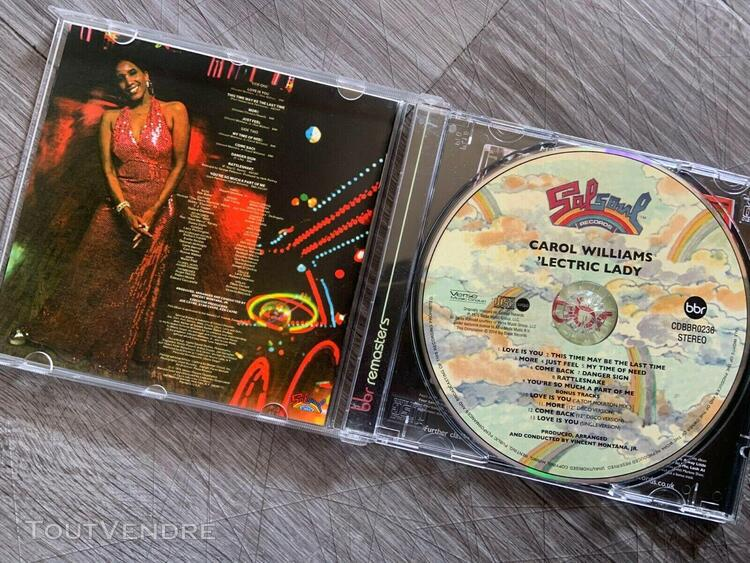 Cd (compact disc) / carol williams lectric lady 1976 funk so