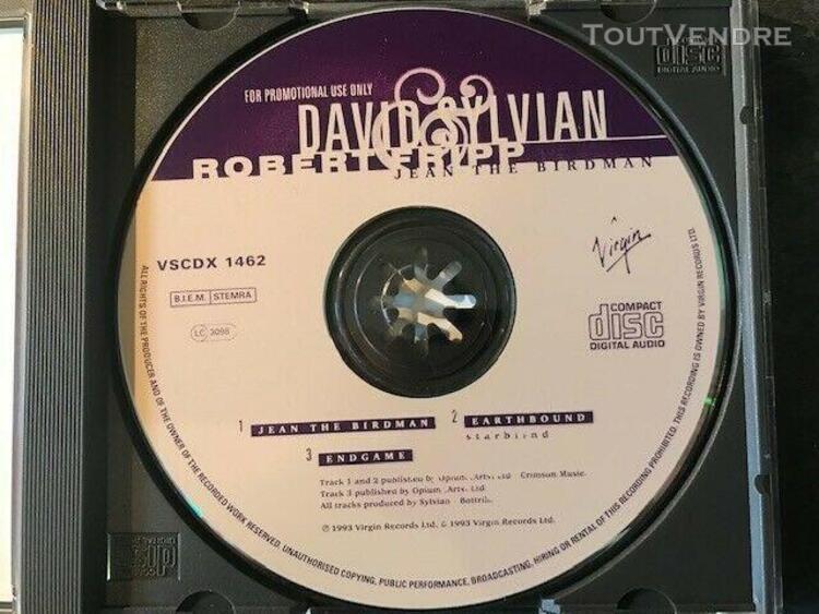 David sylvian / robert fripp - jean the birdman