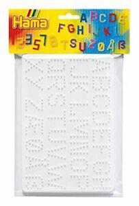 Hama - 4455 - loisirs créatifs - sachet 2 plaques pour