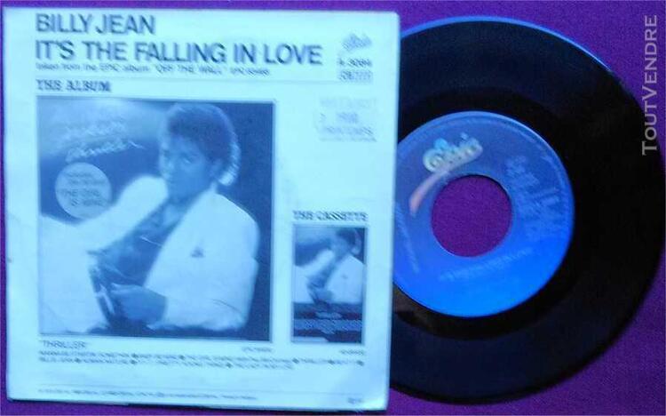 Michael jackson – billie jean (1982) vinyle 45t
