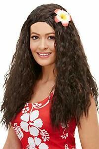 Smiffys 52031 perruque hawaïenne pour femme marron
