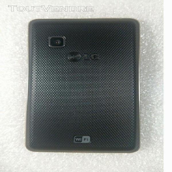 Téléphone mobile smartphone lg t385 wifi noir débloqué