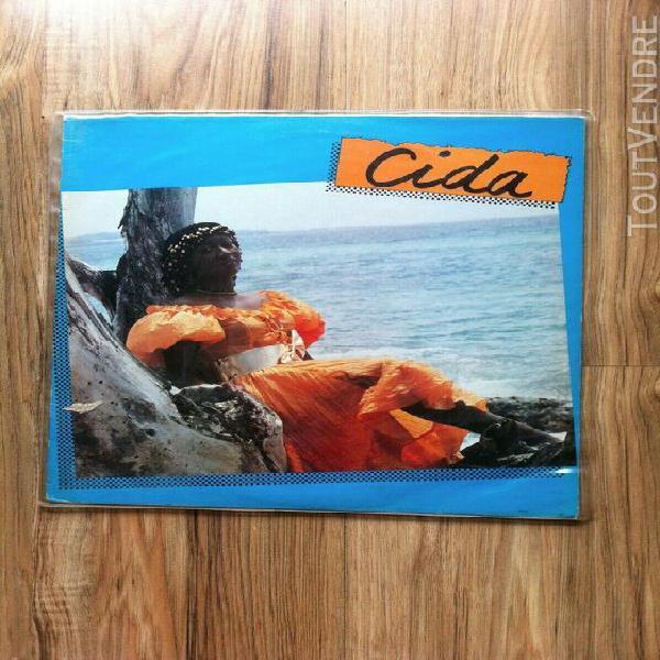 Vinyles album 33t cida desvarieux: cida