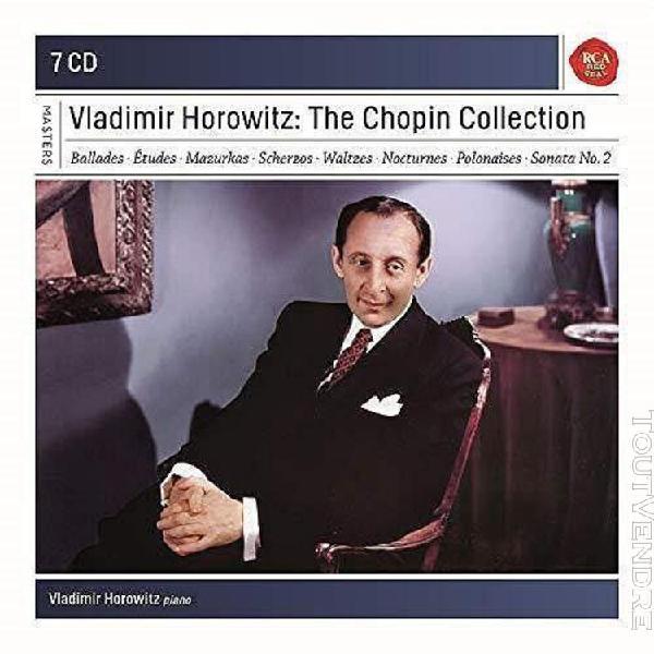Vladimir horowitz: the chopin collection - cd + box