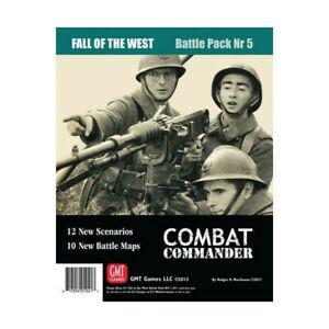 Combat commander fall of the west - battle pack 5, gmt games