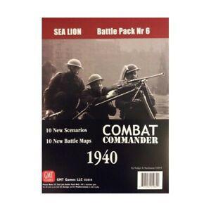 Combat commander sea lion - battle pack 6, gmt games