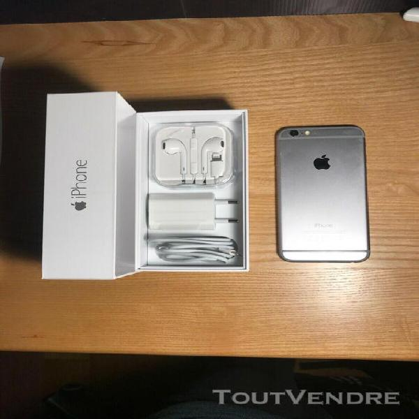 Iphone 6 - 64 go - gris sidéral - très bon état
