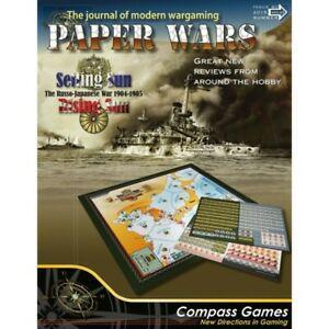 Paper wars 80 - setting sun, rising sun, compass games