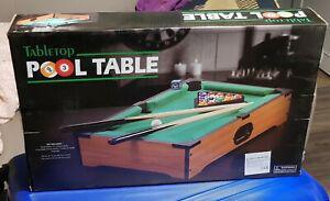 Table top pool table billard neuf avec emballage