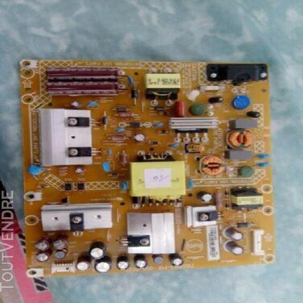 Carte alimentation philips full hd ref 47pfl3188h/12