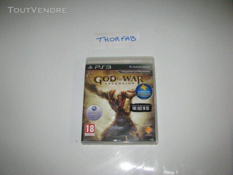 God of war ascension ps3 complet playstation 3