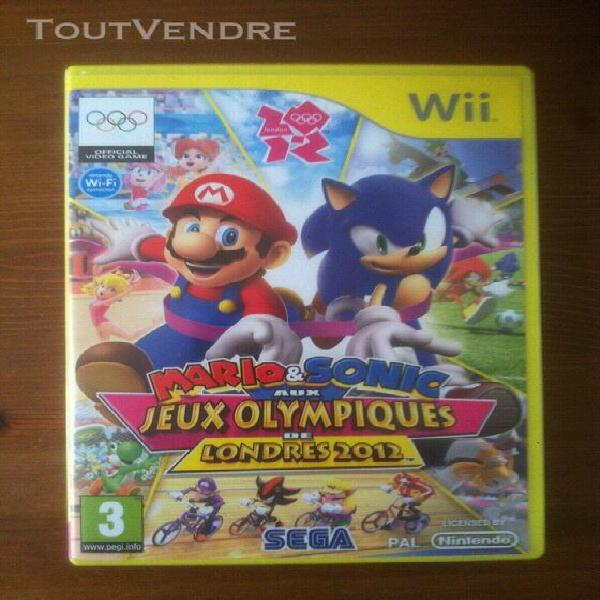 Mario & sonic at the london 2012 olympic games pour nintendo