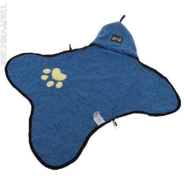 Serviette de bain pour chiens chats serviette nettoyage tapi