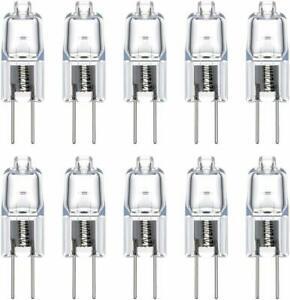 Vicloon ampoules halogènes g4 /20w 12v,g4 lampes de base