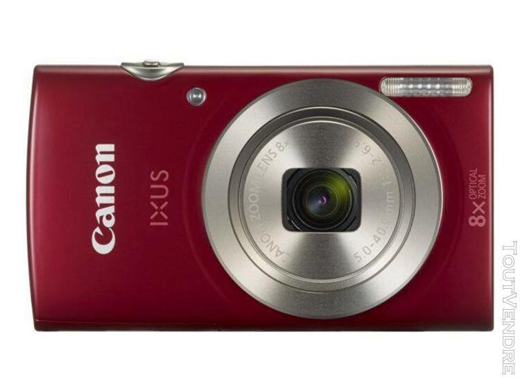 Appareil photo compact canon ixus 175 rouge compact - 20.0 m