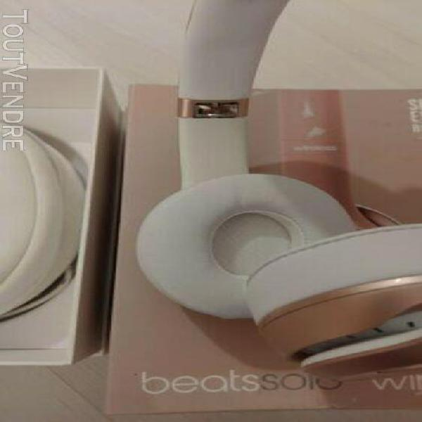 Beats solo 2 wireless special edition rose gold original