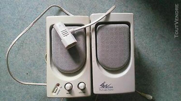 Enceintes multimedia speaker sw 220 (connectiques: prises