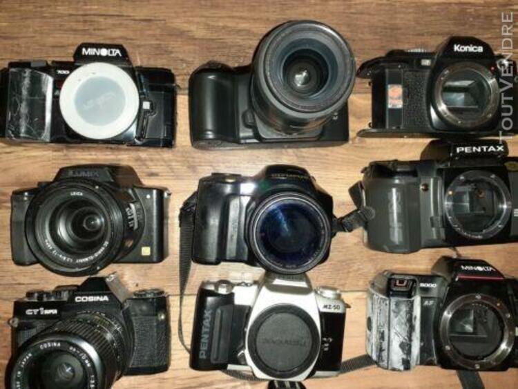 Lot 13 appareil photo argentique/reflex vintage ancien boiti