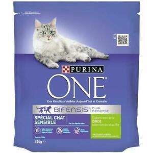 Purina one croquettes a la dinde et au riz - pour chat