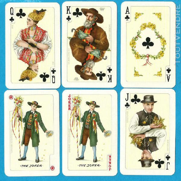 2 anciens jeux de cartes piatnik