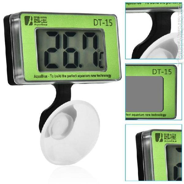 Large digital display aquarium fish tank thermometer tempera