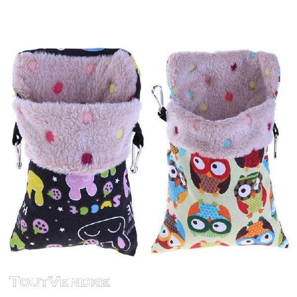 Petits animaux tapis maison cage sac de couchage pour animau