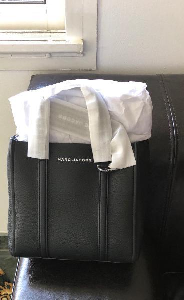 sac à main marc jacobs noir mini tag tote