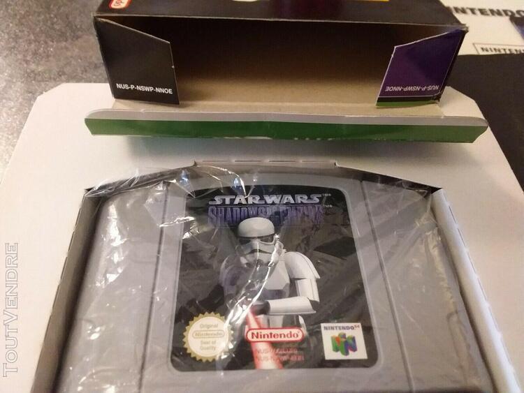 star wars shadows of the empire nintendo 64 n64 boxed cib pa