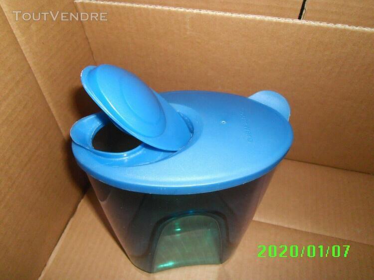 Tupperware pichet elegance bleu vintage 1.5 l tres bon etat