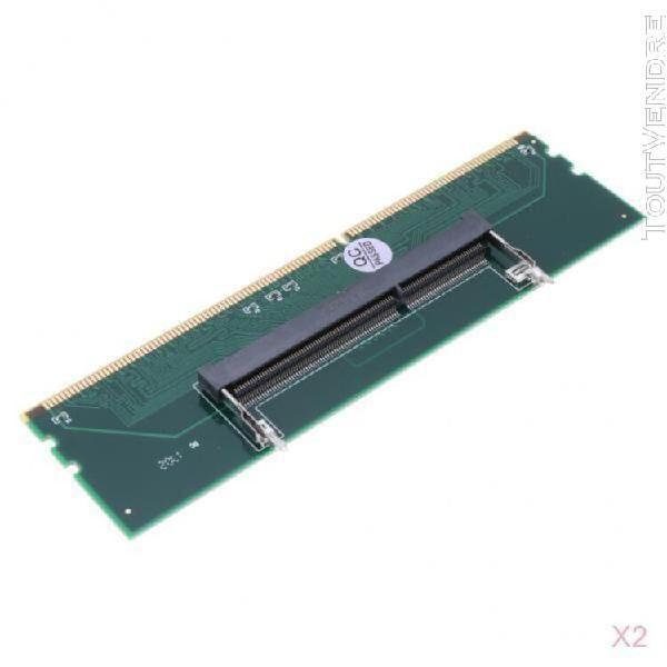 2 pièces ddr3 ordinateur portable à la mémoire de bureau