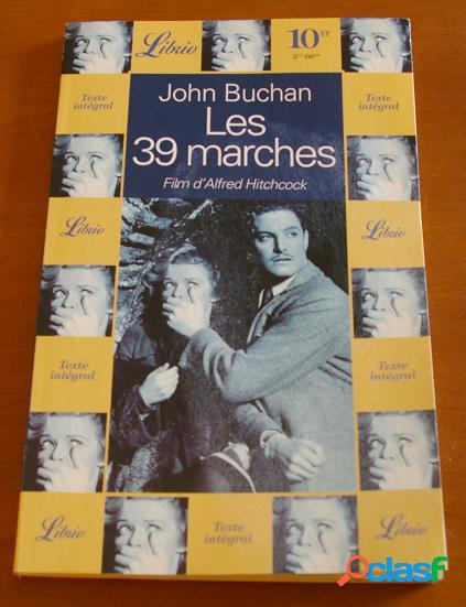 Les 39 marches, john buchan