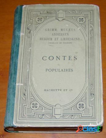 Contes populaires, grimm, musaeus andersen, herder et liebeskind