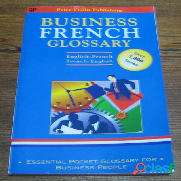 Business french glossary