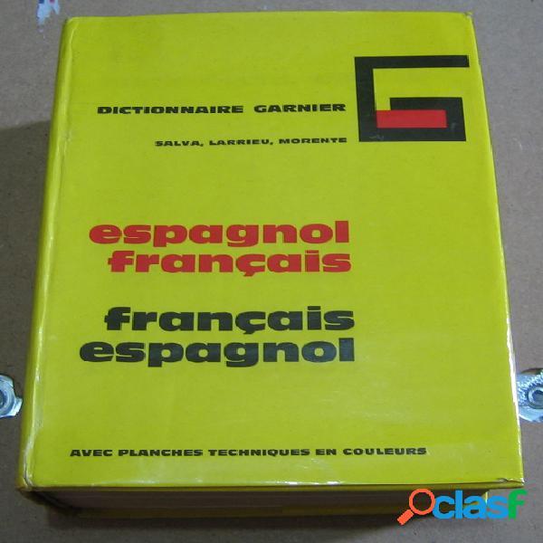Dictionnaire garnier français-espagnol espagnol-français
