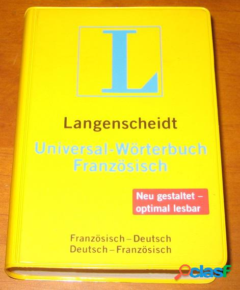 Universal-wörterbuch französisch